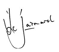 Christiaan Barnard Signature